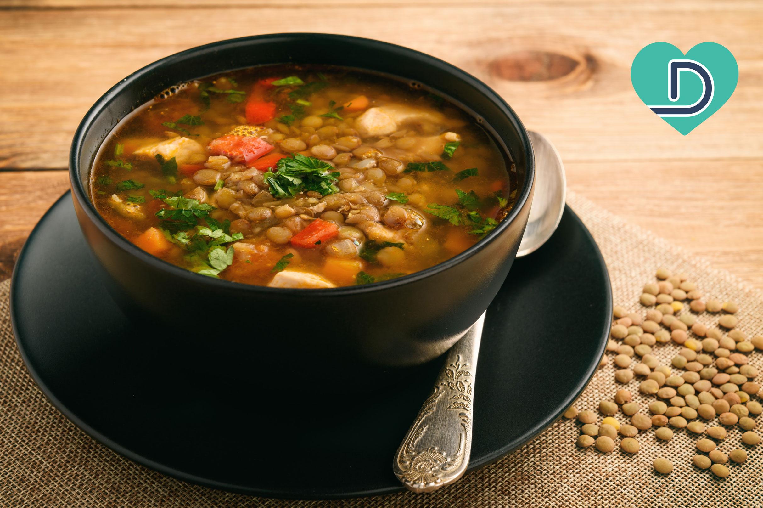 Good for Your Heart Mediterranean Vegetable Lentil Soup
