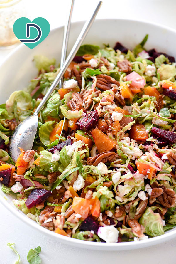 Dr. Dave's Heart Healthy Brussels Sprouts Salad