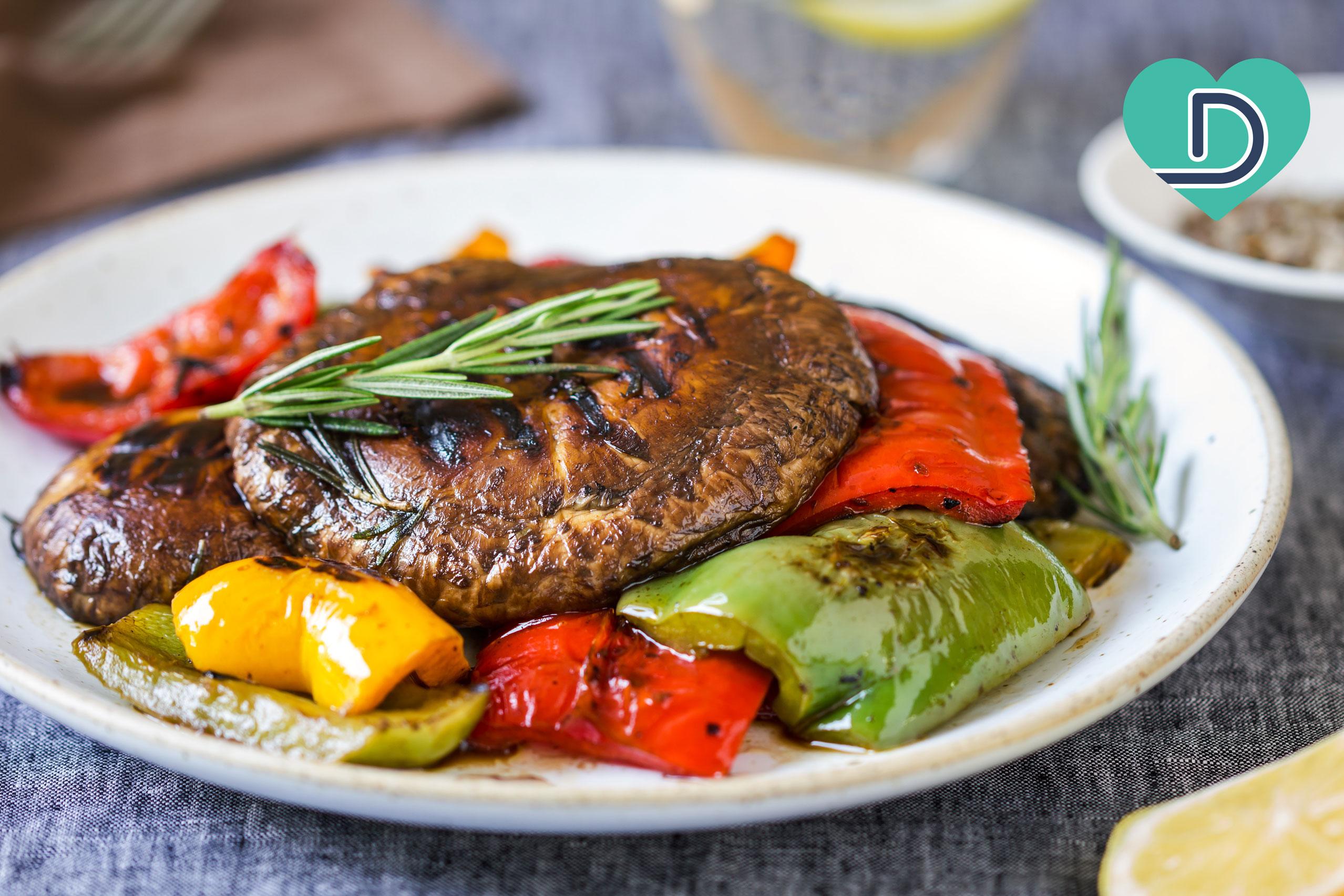 Dr. Dave's Tasty Portobello Steaks