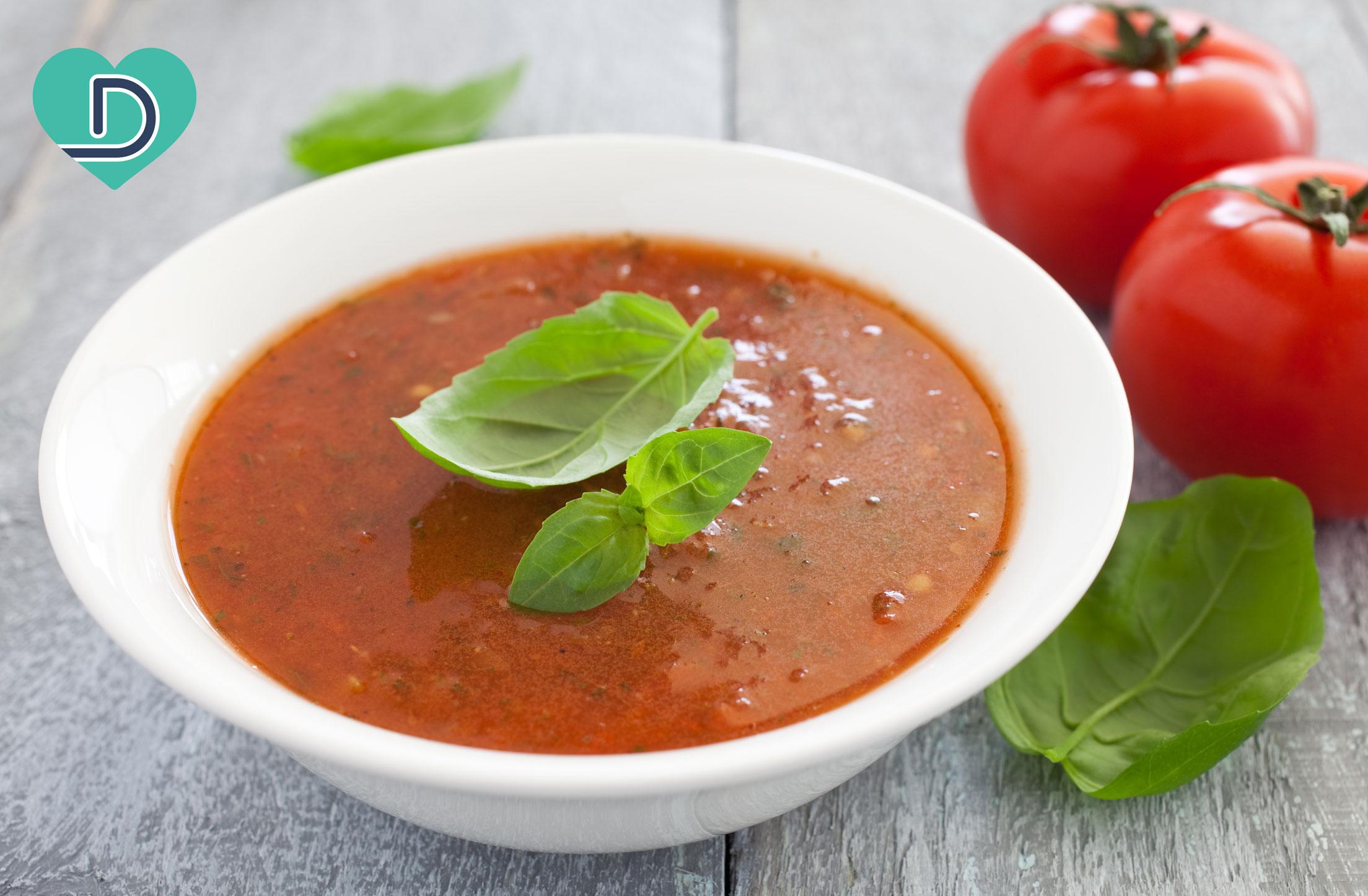Dr. Dave's Vegan Tomato Basil Soup