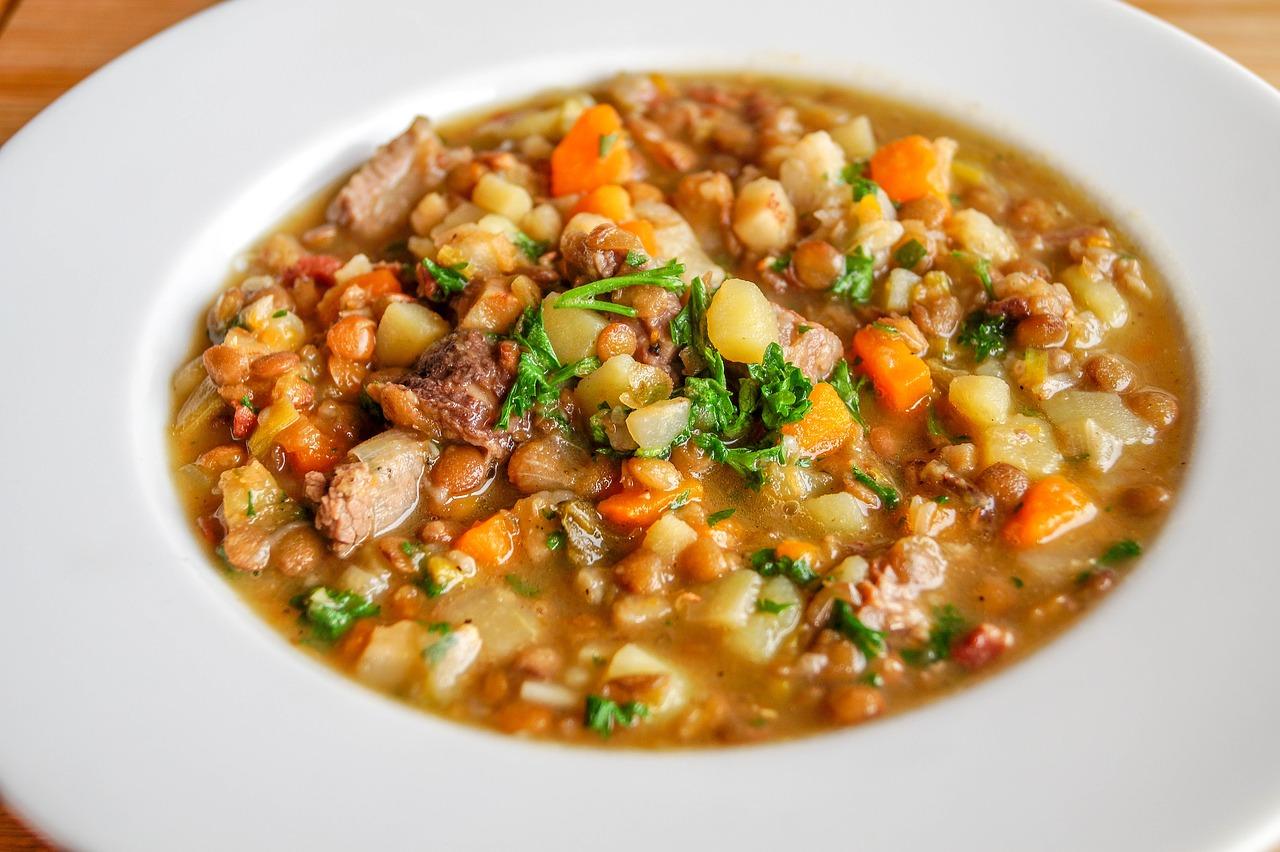 Dr. Dave's Favorite Lentil Verde Stew