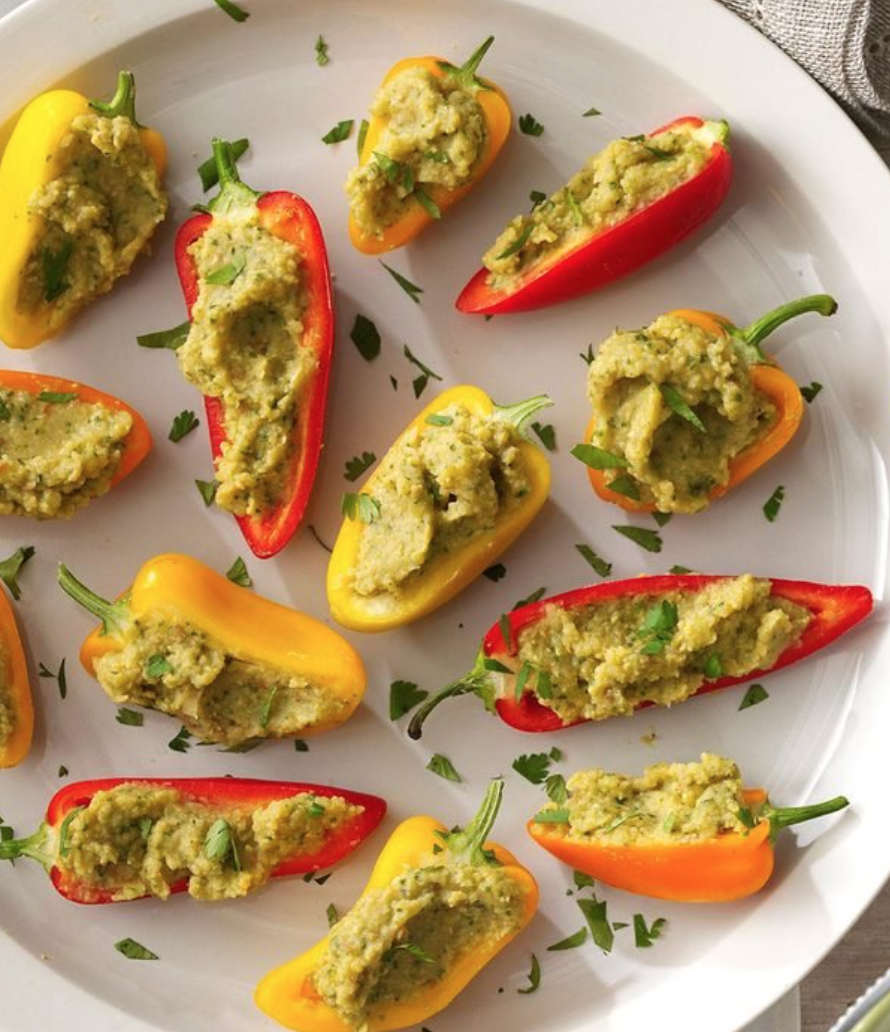 Dr. Dave's Favorite Stuffed Pepper Snack