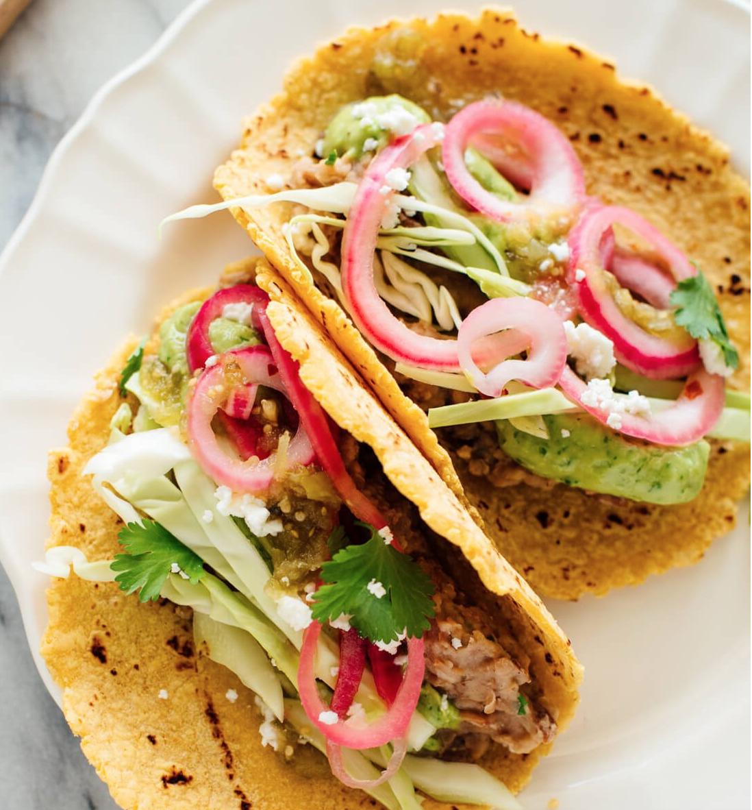 Dr. Dave's Favorite Vegetarian Tacos