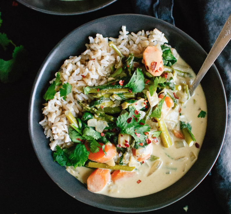 Dr. Dave's Favorite Thai Green Curry